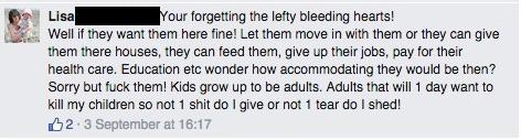 Bleeding heart lefties